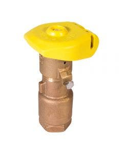 44LRC - 44 Model 1 in. Quick Coupling Valve with Locking Rubber Cover 2-Piece Body