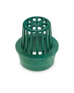 DG3RAG - 3 inch Plastic Round Atrium Drainage Grate - Green