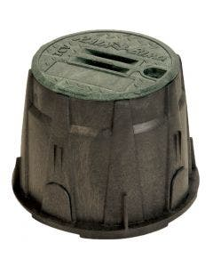 VB10RND - 10 in. Round Valve Box - Green Lid