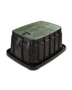 VBJMBH - Jumbo Valve Box - Green Lid & Lock